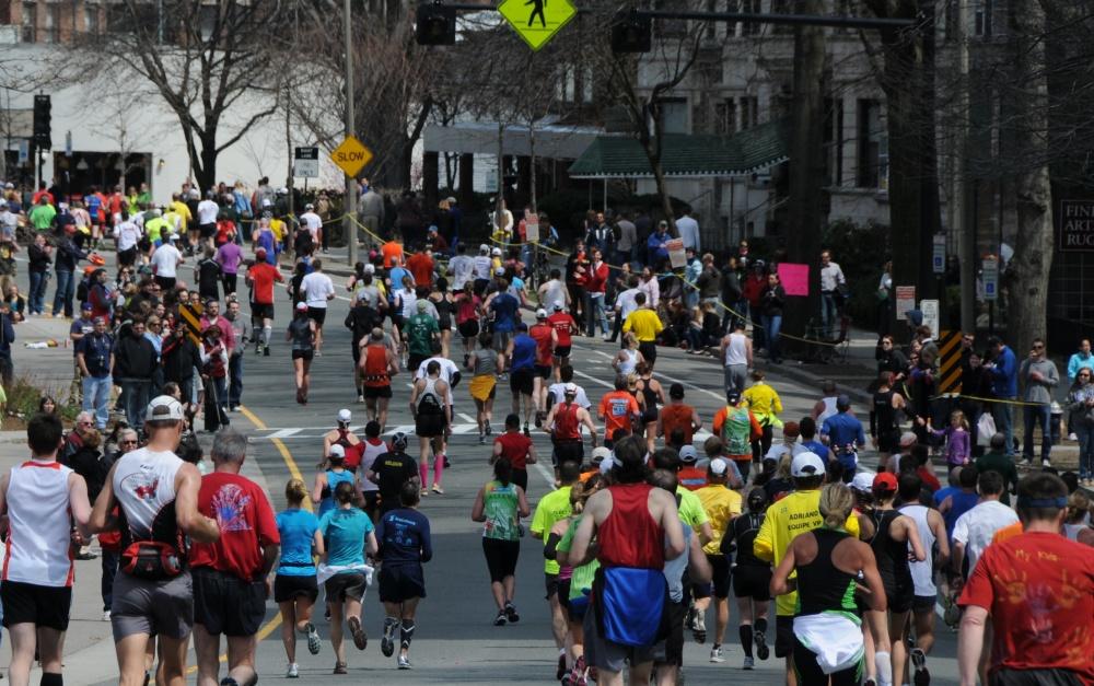 The Boston Marathon 2011